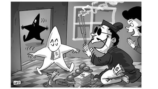 cách giải vận đen cờ bạc bằng thầy cúng